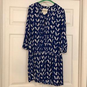 Maeve Drop-waist Royal Blue Dress
